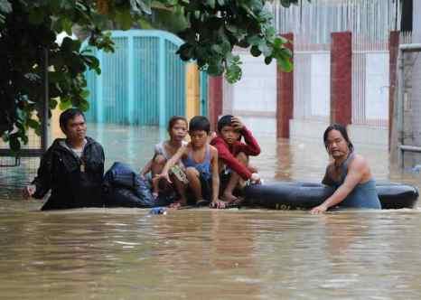 Филиппины. Тайфун. Фото: TED ALJIBE/AFP/GettyImages