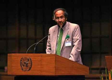 Председатель Межправительственной группы экспертов по изменению климата (МГЭИК) Раджендра Пачаури. Фото: SAEED KHAN/AFP/Getty Images