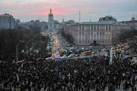 Украина. Киев. Фото: GENYA SAVILOV/AFP/Getty Images