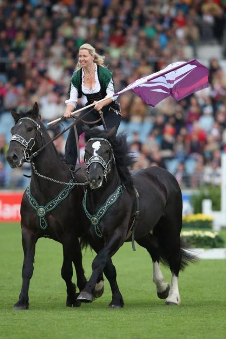 Международный конный фестиваль Chio  2013 открылся в немецком городе Аахен. Фото: Christof Koepsel/Bongarts/Getty Images