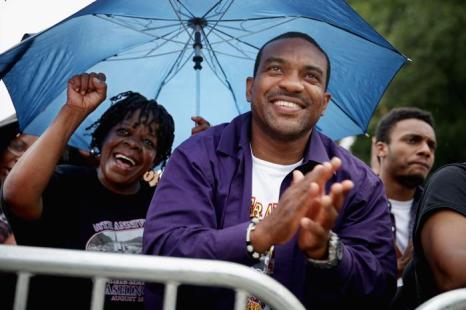 Десятки тысяч человек собрались на церемонии, посвящённой 50-летию со дня исторического «Марша Вашингтона», 28 августа 2013 года на Мемориале Линкольна в столице США. Фото: Chip Somodevilla/Getty Images