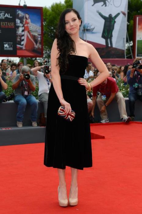 Актриса Клаудиа Леви прибыла на юбилейный 70-й Венецианский международный кинофестиваль 1 сентября 2013 года в Венецию, Италия. Фото: Pascal Le Segretain/Getty Images
