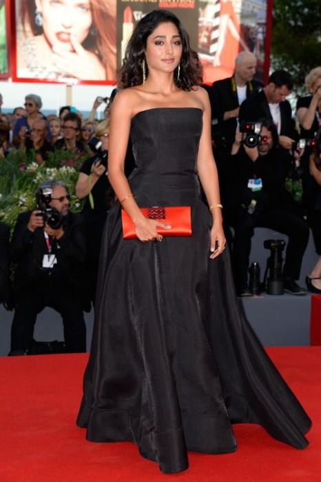Член жюри фестиваля Гольшифте Фарахани посетила открытие юбилейного 70-го Международного кинофестиваля в Венеции 28 августа 2013 года на острове Лидо (Италия). Фото: Pascal Le Segretain/Getty Images