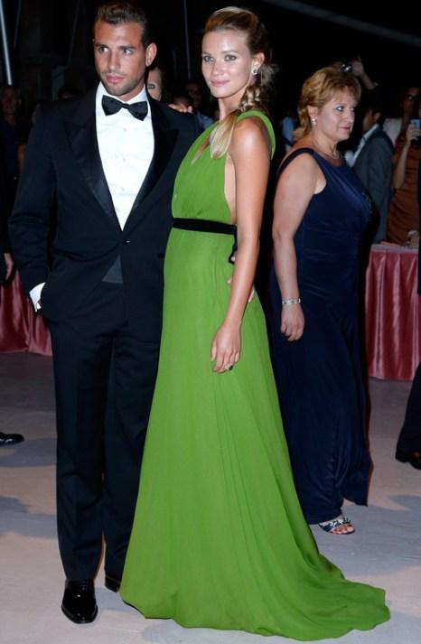 Томми Chiabra и Фьямметта Чиконья посетили открытие юбилейного 70-го Международного кинофестиваля в Венеции 28 августа 2013 года на острове Лидо (Италия). Фото: Pascal Le Segretain/Getty Images