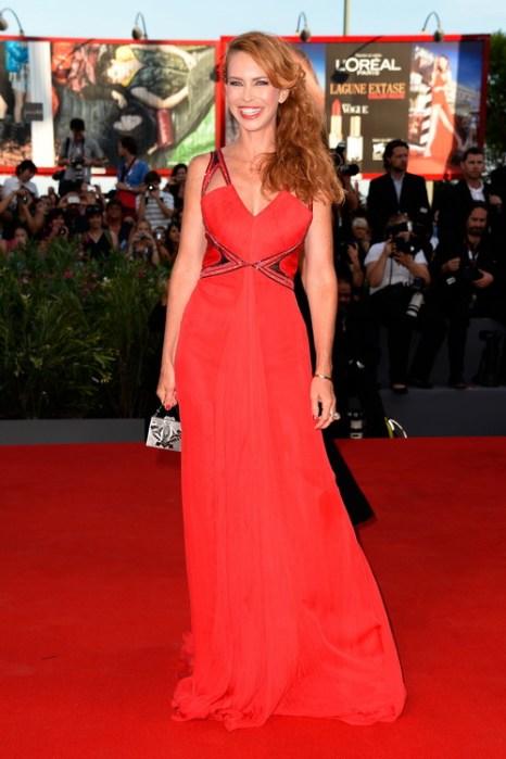 Ивонн Шио посетила открытие юбилейного 70-го Международного кинофестиваля в Венеции 28 августа 2013 года на острове Лидо (Италия). Фото: Pascal Le Segretain/Getty Images