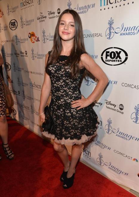 Фатима Птацек на 28-й церемонии вручения ежегодной премии «Образ» (28th Annual Imagen Awards) 16 августа 2013 года в Беверли Хиллз, Калифорния (США). Фото: Alberto E. Rodriguez/Getty Images
