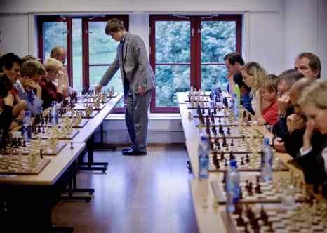 Норвежский шахматный гений Магнус Карлсен. Фото: DANIEL SANNUM-LAUTEN/AFP/Getty Images