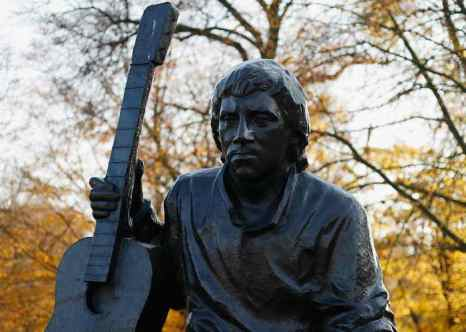 Памятник Владимиру Высоцкому. Фото: Harry Engels/Getty Images