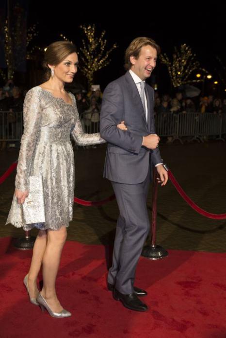 Принцесса Нидерландов Эми и принц Флорис посетили 30 ноября в Гааге торжества по случаю празднования 200-летия Королевства Нидерландов. Фото: Michel Porro/Getty Images
