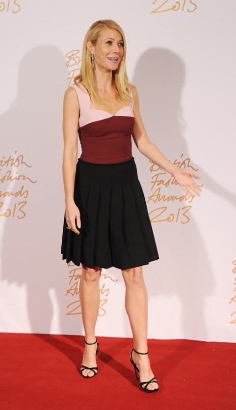 Актриса Гвинет Пэлтроу на вручении премии British Fashion Awards 2013 в лондонском Колизее 2 декабря. Фото: Stuart C. Wilson/Getty Images
