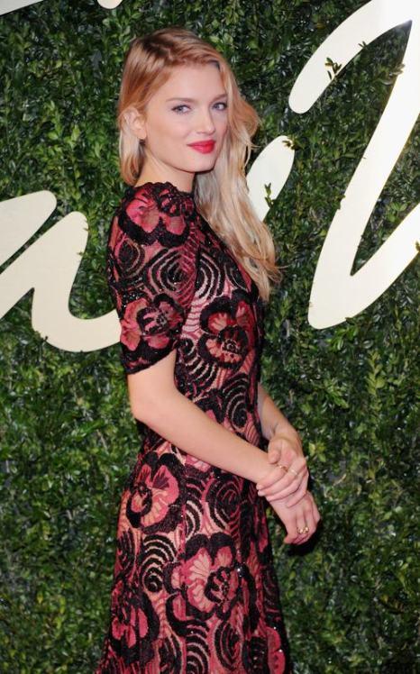 Модель Лили Дональдсон на вручении премии British Fashion Awards 2013 в лондонском Колизее 2 декабря. Фото: Stuart C. Wilson/Getty Images