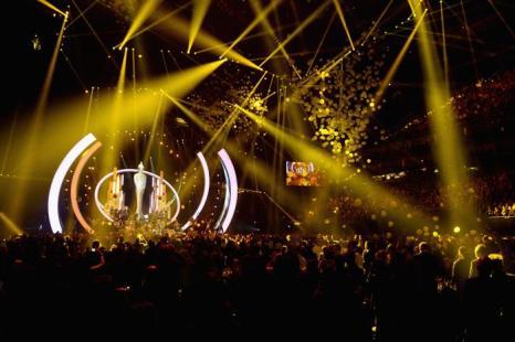 Церемония вручения британской музыкальной премии Brit Awards 2014 в Лондоне.  Фото: Ian Gavan/Getty Images