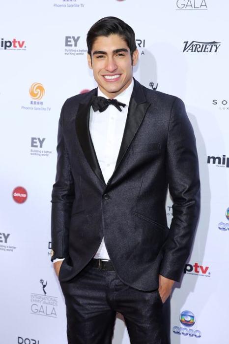 Модель Францизско Эскобар посетил вручение международной премии Эмми (International Emmy Awards) 25 ноября 2013 года в Нью-Йорке. Фото: Neilson Barnard/Getty Images