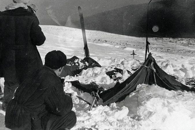 Палатка группы Дятлова. Фото спасателя Вадима