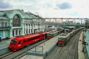 Белорусский вокзал. Фото: Gregory A. Kharikoff/commons.wikimedia.org