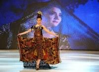 мода, индонезийская мода, Индонезия, Сурабай, NIWASANA NUSANTARA 2014, Elok Rece Napio, APPMI BPD Jatim, Djoko Sasongko и Denny Djoewardi, этническая мода