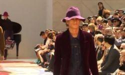 Разноцветные панамки и кроссовки с принтом — мужская коллекция Burberry лето-осень 2015