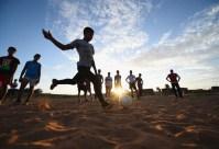 дети, футбол, ЧМ-2014 по футбола, Бразилия, пляж, мяч