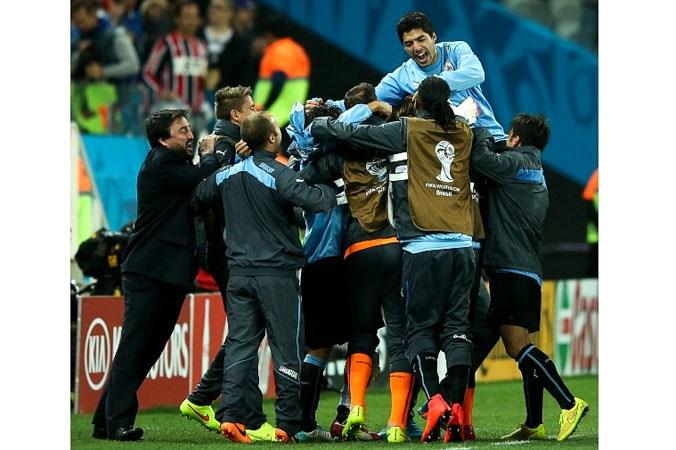 спорт, футбол, Чемпионат мира в Бразилии, Англия, Уругвай