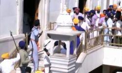 Схватка на мечах произошла между сикхами и служащими Золотого храма в Индии