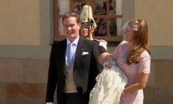 Шведскую принцессу Леонор крестили в Стокгольме