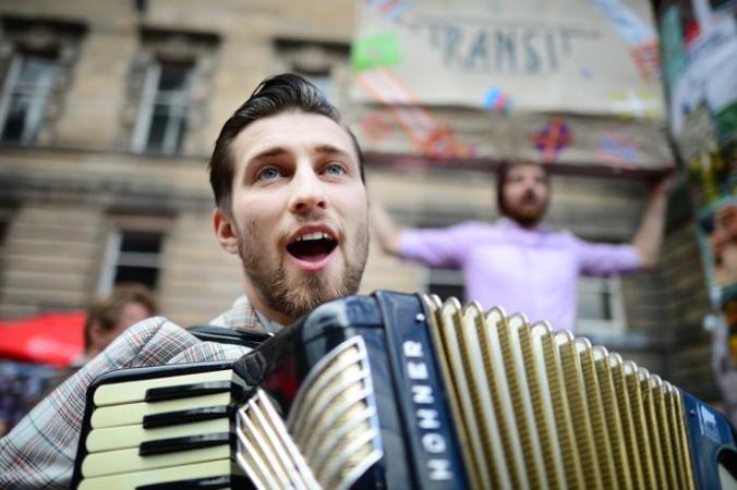 Москва, уличные артисты, уличные музыканты