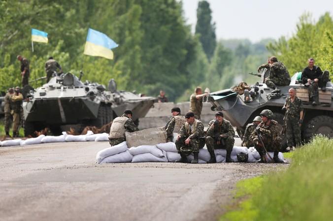 Украина, СНБО, ополченцы