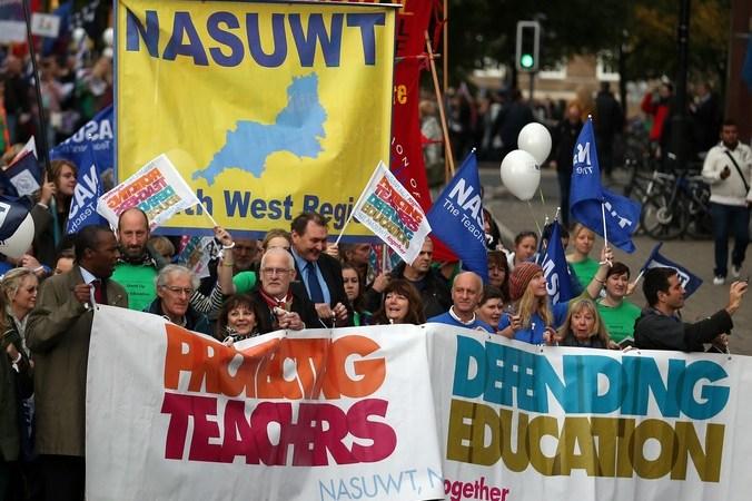 Британия, забастовка, акция