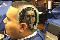 парикмахер, футбол