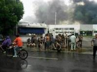 Китай, взрыв, фабрика