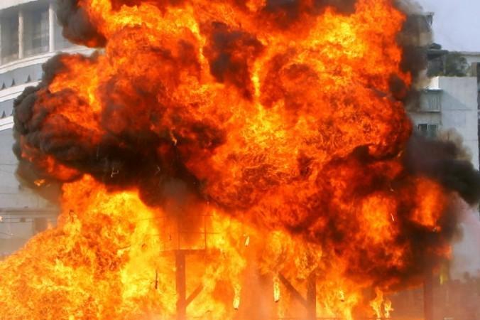Пожар, Китай, нефть