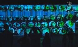Грандиозное светового шоу «Люмина» прошло в Португалии