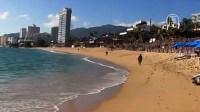 Из-за протестов в Акапулько стало безлюдно