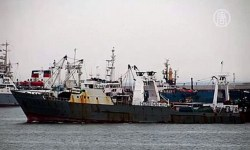 Судно с рыбаками затонуло у берегов Чукотки