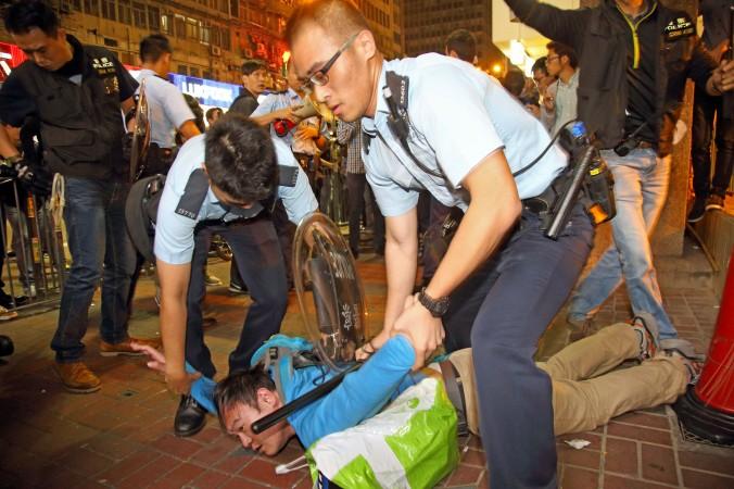 Гонконг, задержание
