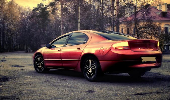 Седан Chrysler Intrepid. Фото: vseta4ki.com