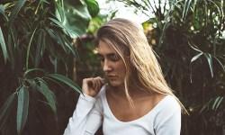 блондинка, грусть, усталость, девушка, настроение, думать, печаль
