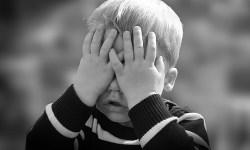 страх, малыш, ребенок, боязнь, обида