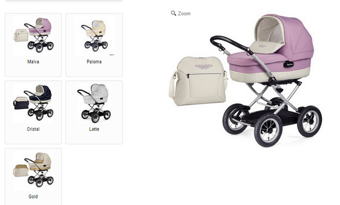 Коляски для новорожденных. Фото: peg-peregoshop.ru