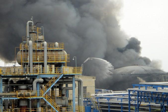пожар CNPC