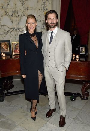 "NEW YORK, NY - APRIL 19:  Blake Lively and Michiel Huisman attend ""The Age of Adaline"" premiere after party at The Metropolitan Club on April 19, 2015 in New York City.  (Photo by Jamie McCarthy/Getty Images)"