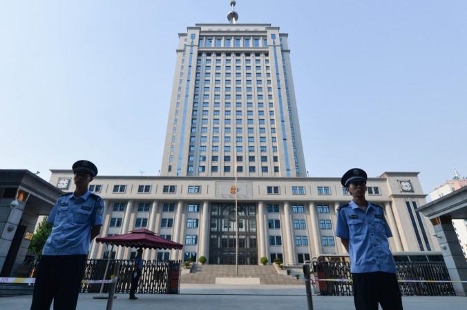 суд в Китае