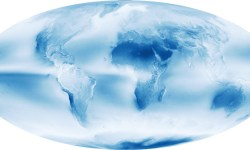 НАСА показало самые облачные и сухие места на планете