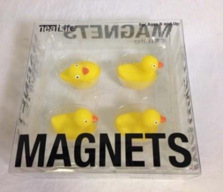 Китайские уточки на магнитах. Фото: Consumer Product Safety Commission
