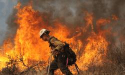 Россия, Бурятия, пожары