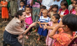 Анджелина Джоли, знаменитости, фото дня