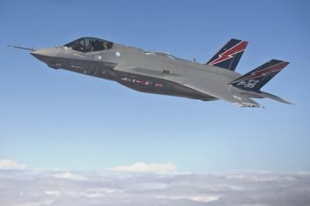 F-35 — истребитель ВВС США, на основе которого китайские военные разработали свойJ-29, получив информацию через взлом государственных систем США. Фото:LockheedMartin / МэттShort