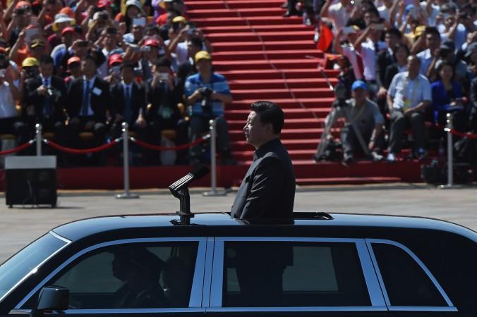 грандиозный военный парад Си Цзньпин