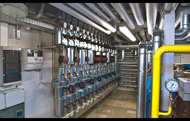 Система отопления, котельная