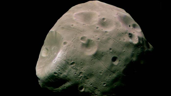 Фобос. Фото: NASA